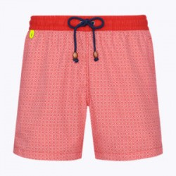 """MAILLOT TRE138ZZ """"MOZAIC"""" ROUGE"""