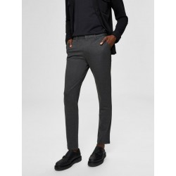 PANT SLIM JERSEY FLEX BASIC. DARK GREY