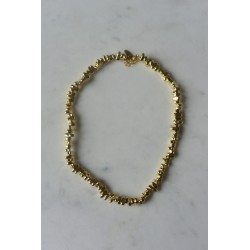 COLLIER NINA CAILLOUX HEMATITE OR