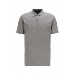 BOSS Polo PALLAS silver