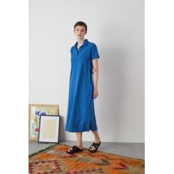 LEON & HARPER Robe RIKKY bleu