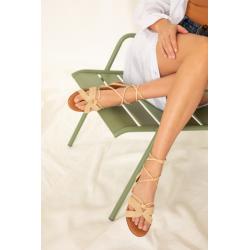 ANAKI Sandale JACINTHE naturel