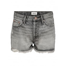ONLY Short FINE denim grey