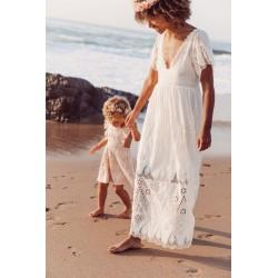 LOUISE MISHA Robe ALICE white